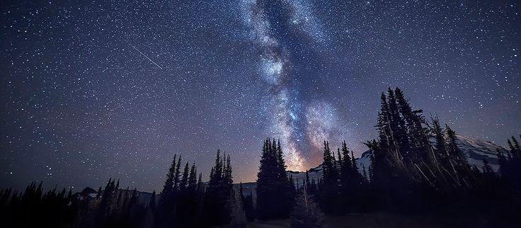 Night Sky & Star Photography Workshop: Mount Rainier National Park ...