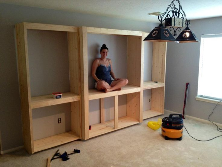 Domesticability Media Room Progress Media Cabinet Built