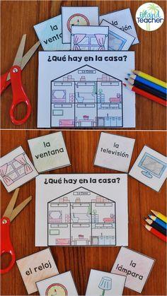 Spanish interactive games