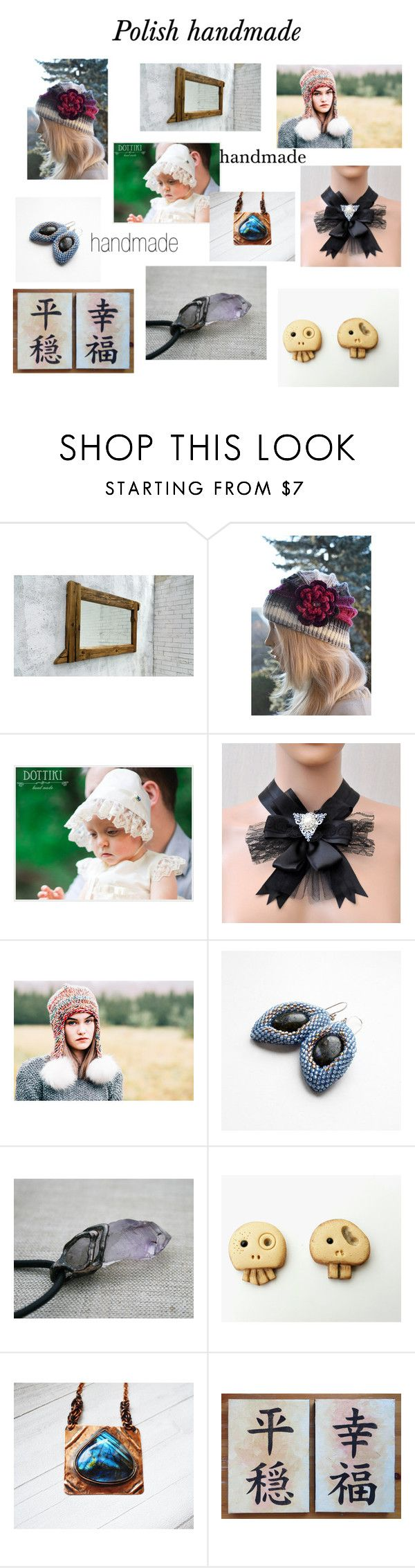 """""""Absolutely handmade"""" by marudafelting ❤ liked on Polyvore featuring Humör"""