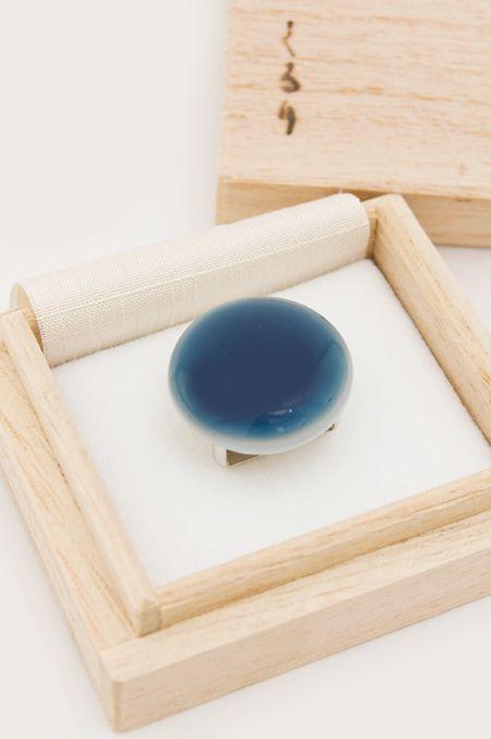 くるり : 色しずく 藍色 /帯留め | Sumally (サマリー)