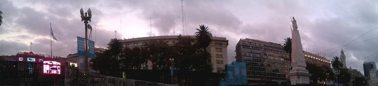 Plaza 25 de Mayo, panoramica