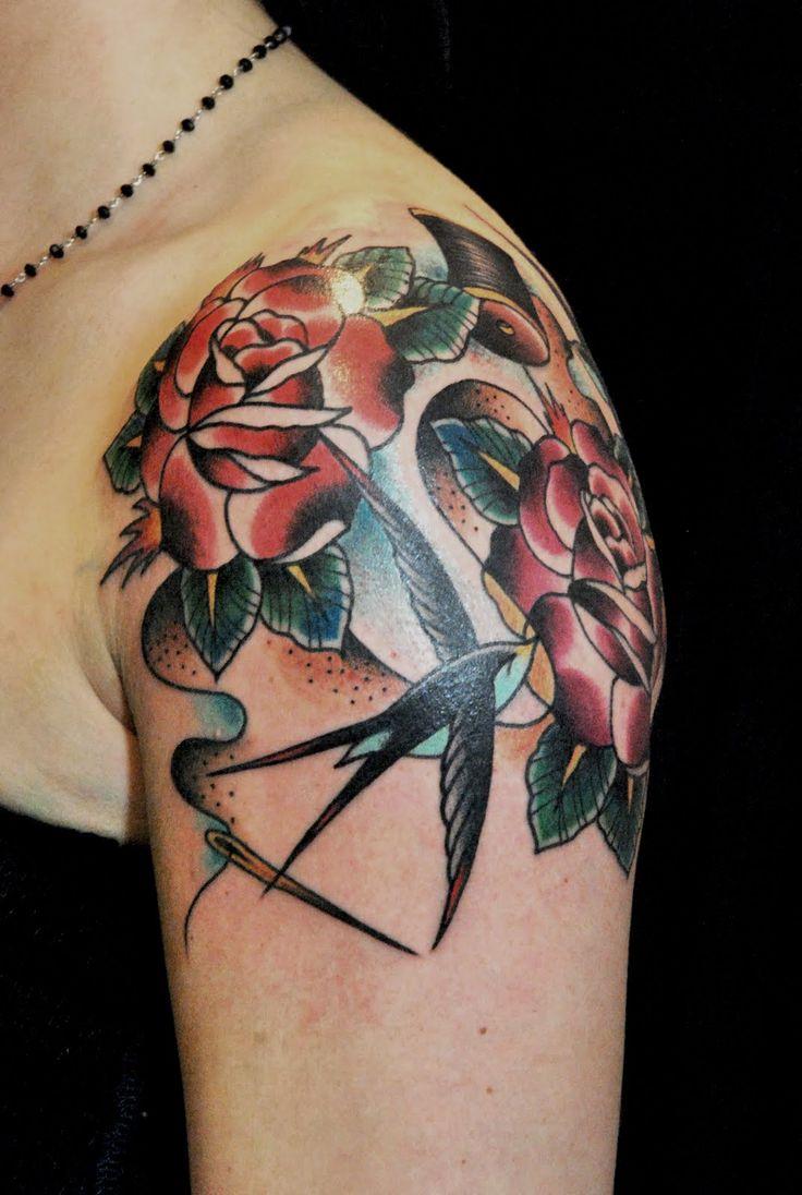 tatuaggio rondine braccio - Cerca con Google