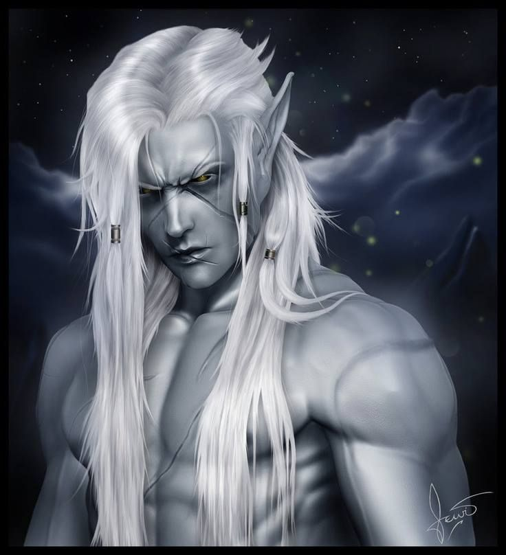 Male Elf -- dang, he is shirtless so I had to pin!