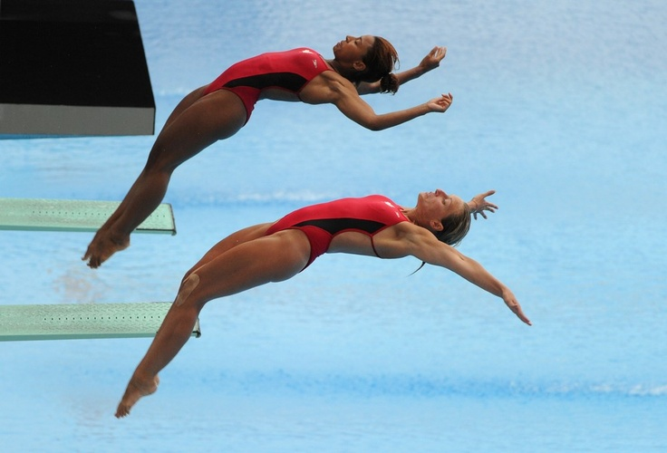 Synchro Diving: Jennifer Abel and Emilie Heymans Canada