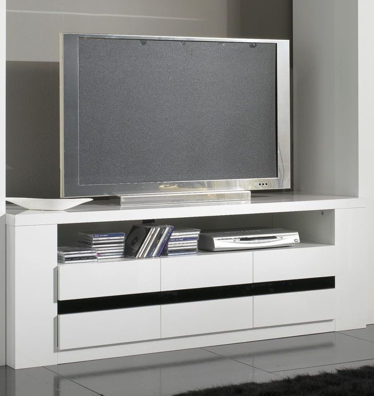 Interior Design Meuble Tv Laque Blanc Meuble Tele Design Laque