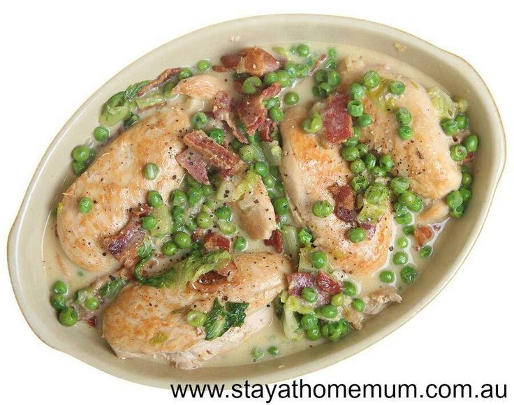 Baked Sour Cream Chicken - a firm family favourite!