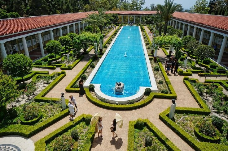 18 Beautiful Places You Probably Didn't Know Were In Los Angeles - The Getty Villa