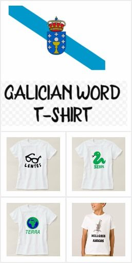 Galician Word T-shirt
