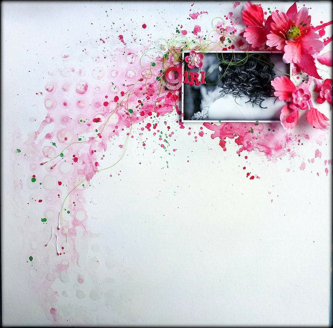 Loolabelle's Gallery: Prima DT - Mixed Media