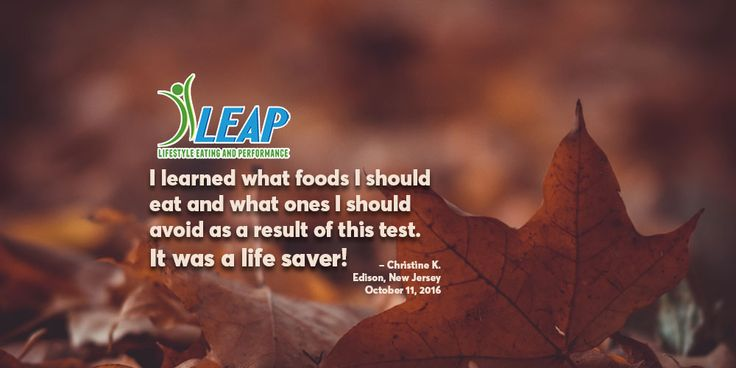 """""""I decided to go to a nutritionist and that is where I heard about the MRT test. I had the MRT test on July 23, 2016."""" Read the full story.  Testimonial from a client of Maria Sakowitz, MS, RDN, LDN, Certified LEAP Therapist."""
