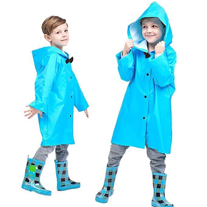 Blue 2-10t Kids Rain Jacket Solid Rain Coats for Girls Boy Rain Coat Rain  Trench Coat Packable Rain Jacket Boys …   Kids rain jackets, Boys rain coat,  Raincoat kids