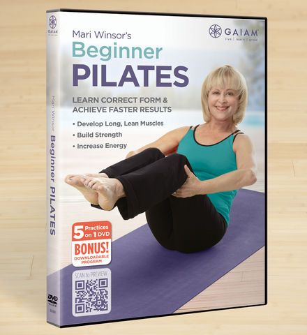 Mari Winsor's Beginner Pilates DVD - Gaiam