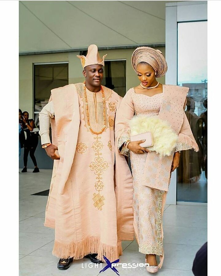 344 best Nigerian Couples Traditional Attire images on Pinterest | African fashion African ...