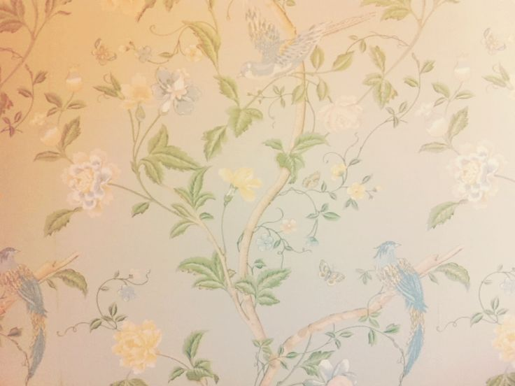 My laura ashley wallpaper :)