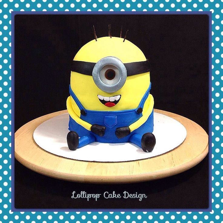 minion template for cake - 122 best lollipop cake design images on pinterest cake
