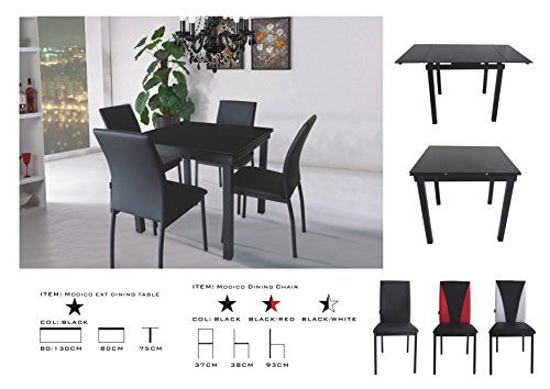 Modico Dining Table and 4 Chairs Sets, Black Tempered Gla... https://www.amazon.co.uk/dp/B01C1KWEXW/ref=cm_sw_r_pi_dp_x_Zqp-xb3DMXG1R