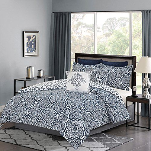 1000 Ideas About Navy Blue Comforter On Pinterest Coral