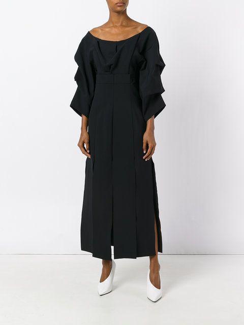 A.W.A.K.E. платье с драпировкой