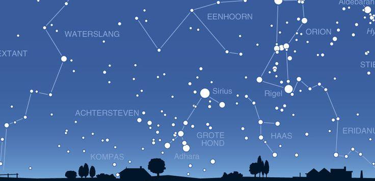 Weet jij 's nachts de sterren te vinden? Dat kan heel makkelijk met een sterrenkaart. Daarmee zie je precies welke sterren er aan de hemel staan.