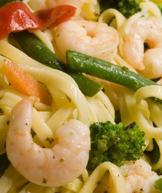 You don't have to give up pasta when you're trying to lose weight. This flavor-packed recipe gets a nutritional boost from broccolini, heart healthy olive oil, and whole wheat spaghetti. - Shape.com