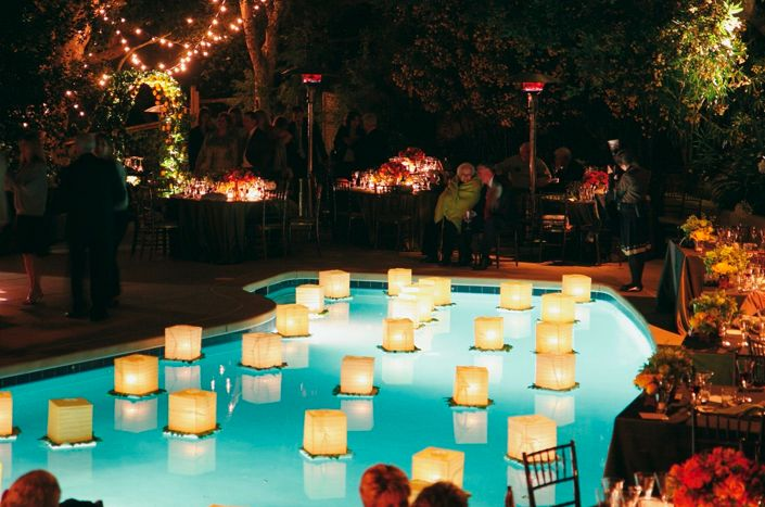 Floating Pool Lights For Wedding in Lighting
