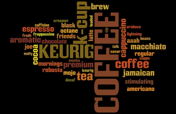 This is a wordle I made for the Keurig Vue House Party
