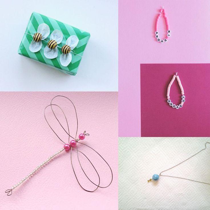 Monthly Makers tema pärlor: era bidrag