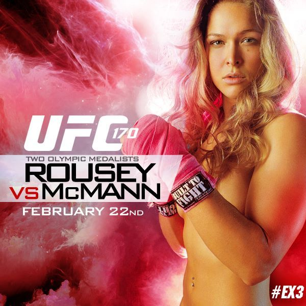 One of the stars of Expendables 3 will be battling off-screen in the octagon TONIGHT. Good luck with your #UFC fight, Ronda Rousey—or should we say Luna! #EX3