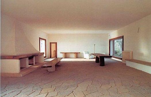 Interior of Casa Malaparte, Capri