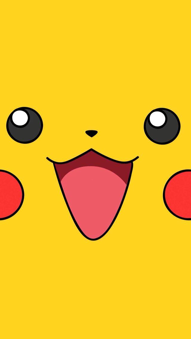 Cute Cartoon Birthday Wallpaper Pikachu Face Cute Lockscreens Pokemon Birthday
