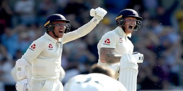 England Has Won The Third Ashes Test Match After A Thrilling Ben Stokes Century That Defied The Odds And Prevented Australia Fr Ben Stokes Cricket Gary Lineker