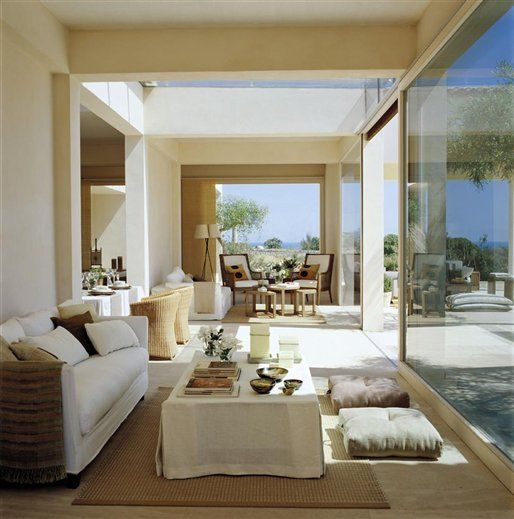 Love the idea of sealing off the veranda from the elements with sliding glass doors if wet & windy.
