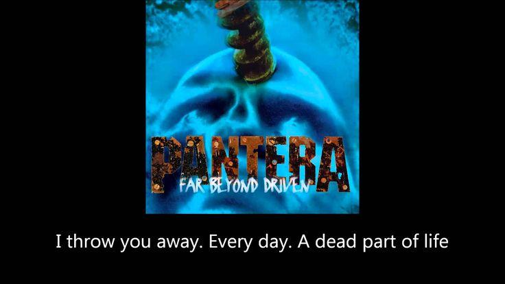 Pantera - Shedding Skin (Lyrics)
