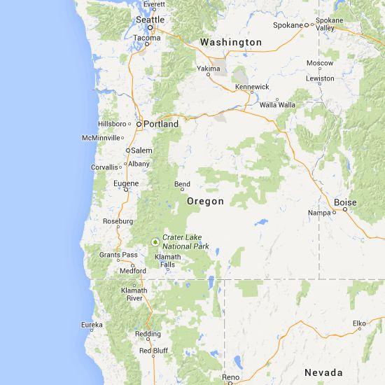 Best Oregon Map Ideas On Pinterest Oregon Road Trip Oregon - Map of oregon rv parks
