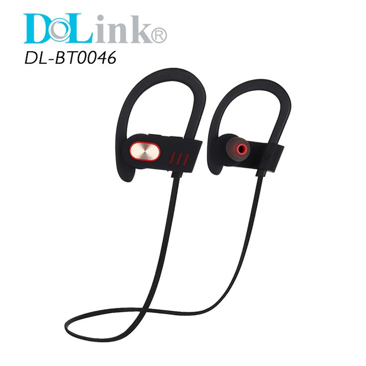 Noise-Cancelling Sweatproof Wireless Fashion Earbud Neckband Stereo bluetooth sport headphone with Mic for Running