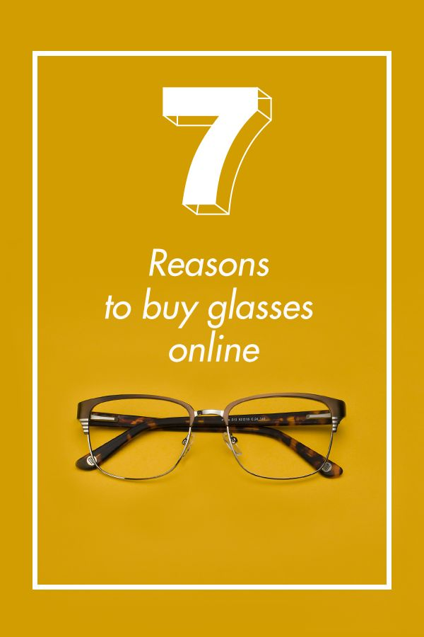Important read: 7 reasons why you should buy glasses online: http://www.GlassesUSA.com/blog/7-reasons-to-buy-glasses-online?affid=pin-lp218&utm_source=pinterest.com&utm_medium=pint_sponsored&utm_campaign=7reas