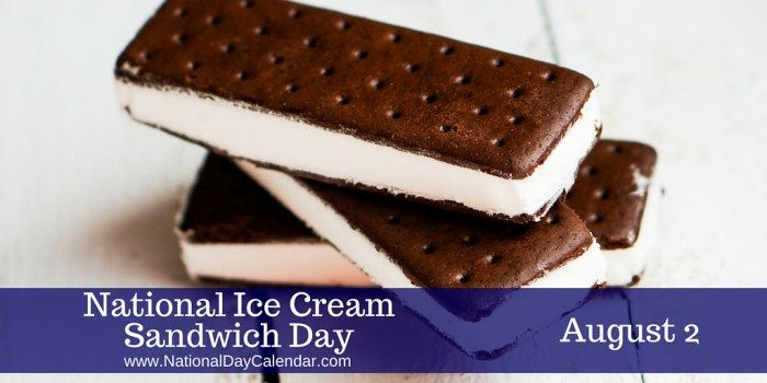 August 2, 2017 – NATIONAL COLORING BOOK DAY – NATIONAL ICE CREAM SANDWICH DAY