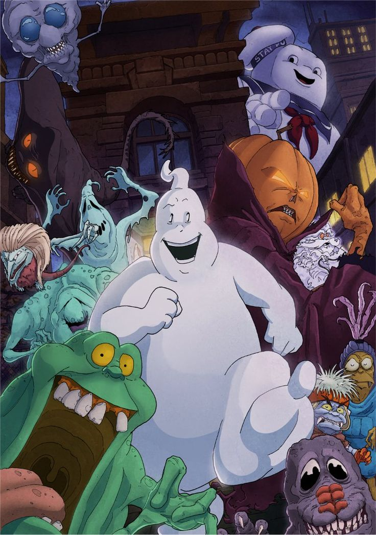 The Real Ghostbusters comic cover by T-RexJones on deviantART