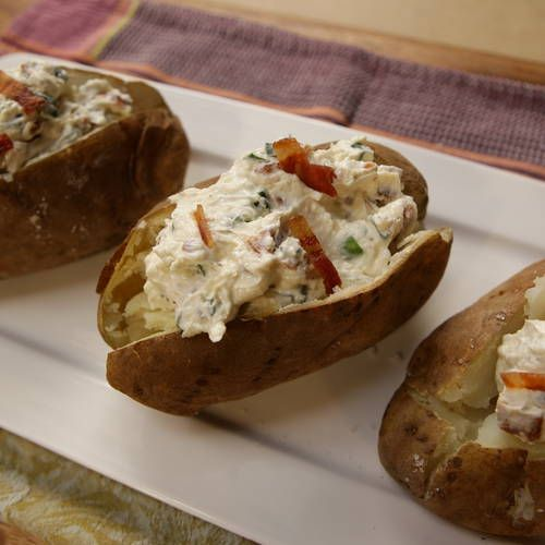 Stuffed baked potatoes, Baked potato casserole and Baked potatoes ...