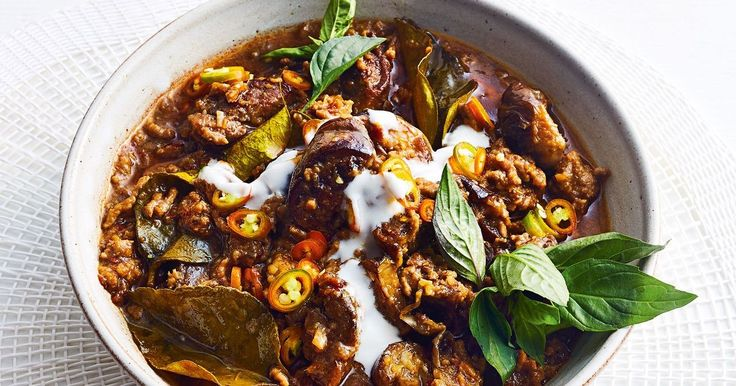 This jungle curry, from Northern Thailand, is on the table in just 45 minutes.