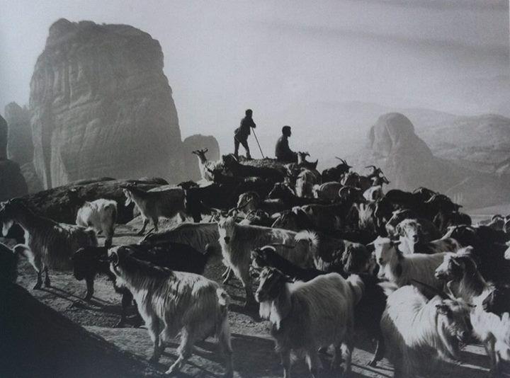 1991, Meteora, Greece   Photo: Costas Balafas, Benaki Museum, Photographic Archives   #visitGreece #visitMeteora