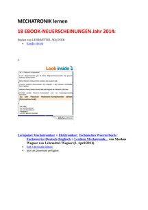 new ebooks year 2014 german english dictionary mechanical engineering mechatronics