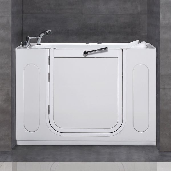 Aston 50x30 Inch White Jetted Walk In Tub | Overstock.com Shopping