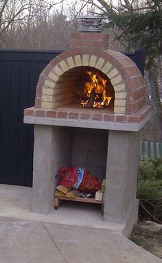The Tildsley Family Wood Fired DIY Brick Pizza Oven in Massachusetts by BrickWood Ovens
