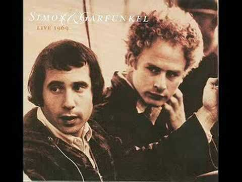 Simon and Garfunkel - Bridge Over Troubled Water (Live 1969) First time introduced to audience.