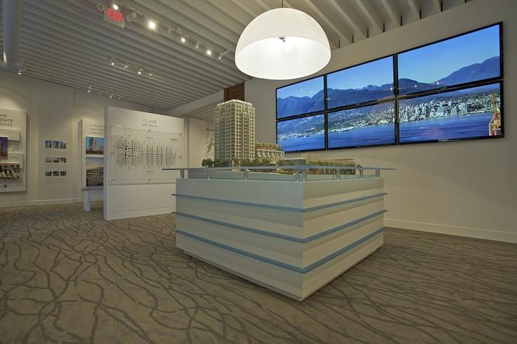 Sales Centre design for Anthem Properties