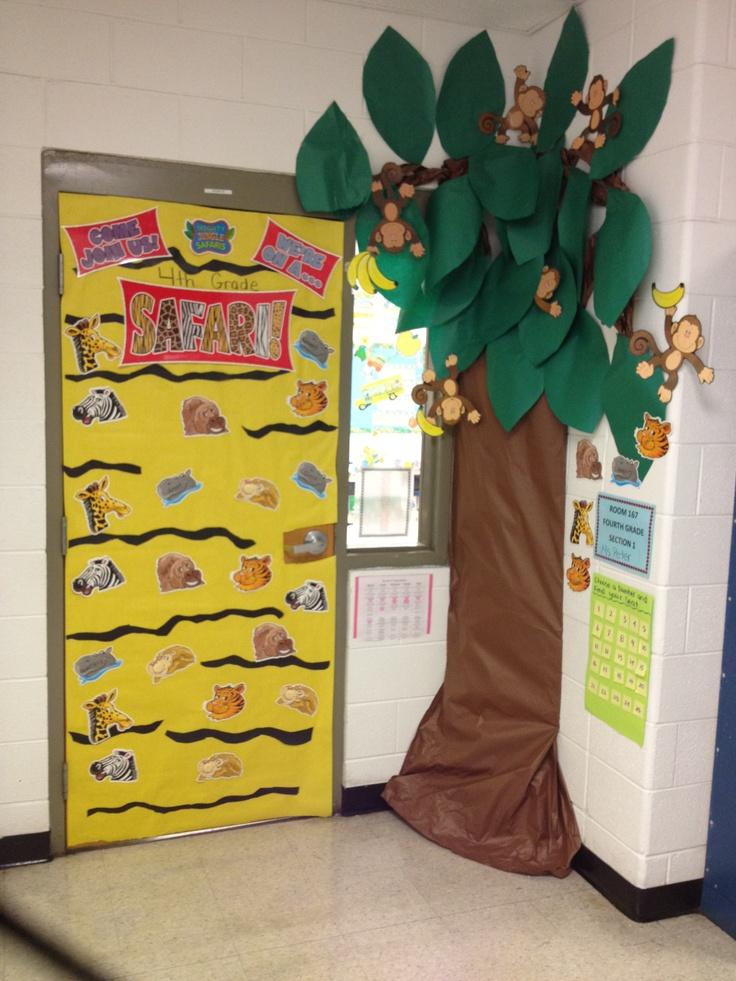 Classroom Jungle Ideas ~ Best jungle theme classroom images on pinterest