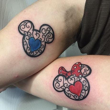 19 tatouages Disney