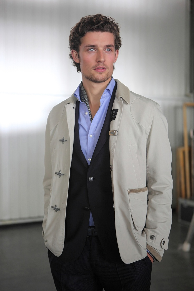 Jacket from Fay Men's Spring Summer 2013 collection